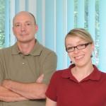 Zahnarzt Dr. Clauß und Zahnärztin Sandra Splith aus Leipzig
